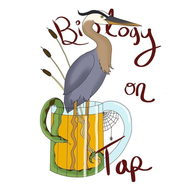 Biology on Tap logo